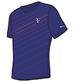 Nike Mens RF Tee- Deep Royal Blue