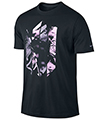 Nike Mens Rafa Graphic Tee- Black