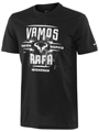 Nike Mens Vamos Lockup Tee - Black