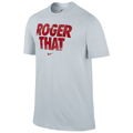 Nike Mens RF Graphic Tee - Pure Platinum