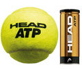 Head ATP Tennis Balls (3 Ball Can) : Quantity Deals