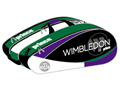 Prince Wimbledon 12 Pack LTD Edition Racket Bag- White/Purple