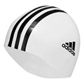 Adidas Silicone Swimming Cap- White/Black