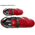 Babolat Mens Jumbo Propulse 3 Tennis Shoe- Red (Size UK30) - GIFT IDEA