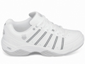 K-Swiss Womens Vibrant IV Indoor Carpet Shoes- White/Light-Grey