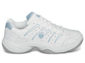 K-Swiss Womens Grancourt II Indoor Carpet Tennis Shoes- White/Powder Blue