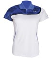 Li-Ning Womens Blast 21 Polo- White/Blue