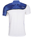 Li-Ning Mens Bast 21 Polo- White/Blue