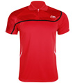 Li-Ning Mens Bast 21 Polo- Red