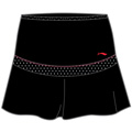 Li-Ning Womens Team Series Skirt- Black/Red