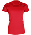 Li-Ning Womens Blast 21 Tee- Red