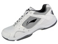 Li-Ning Mens Training Badminton Shoes- White/Black (AYTG003-2)