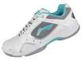 Li-Ning Womens Training Badminton Shoes- White / Aqua / Black