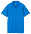 Lacoste Sport Mens Ribbed Collar Polo- Encre Blue