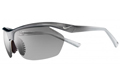 Nike Tailwind Sports Sunglasses- Fade Graphite Frame with Grey Lens