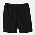 Lacoste Mens Quartier Plain Shorts- Black