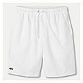 Lacoste Mens Quartier Plain Shorts- White