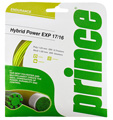 Prince Hybrid Power EXP 17/16 Tennis String Set (Optic Yellow/Natural)