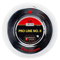 Kirschbaum Pro Line II 17 (1.25mm) Tennis Strings 200m Reel - BLACK