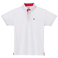 Yonex Mens Polo Shirt- White/Red (M1200)