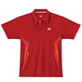 Yonex Mens Graphic Polo Shirt- Red (M1262)