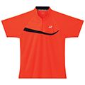 Yonex Mens Zip Polo Shirt- Shine Orange (M1273)