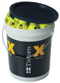 Tretorn Micro X Trainer Balls YELLOW 6 Doz Bucket