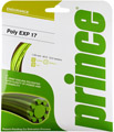 Prince Poly EXP Tennis Strings- Gauge 17 Set (Optic Yellow)