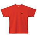 Yonex Mens Plain T-Shirt- Red (P0010E)