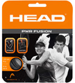 Head PWR Fusion 1.30mm BLACK Tennis Strings - Sets