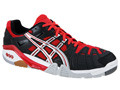 Asics GEL-Progressive Indoor Squash/Badminton Shoes - Black / Red / White