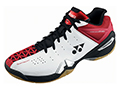 Yonex SHB 01MX Mens Badminton Shoes- White/Red