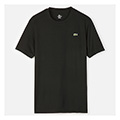 Lacoste Sport Mens Plain Crew- Black