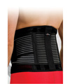 Precision Training Neoprene Back Brace with Stays