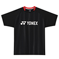 Yonex Mens Logo T-Shirt- Black/Red (U5201)