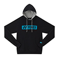 Yonex Mens Hooded Sweatshirt- Black (U5241)