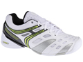 Babolat Mens V-Pro Indoor Carpet Tennis Shoes - White/Lime Green