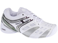 Babolat Womens Pure Lady Indoor Tennis Shoes- White/Cyan