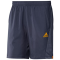 Adidas Mens adiPower Barricade Shorts- Urban Sky/Bright Gold