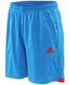 Adidas Mens adiPower Barricade Shorts- Bright Blue/Core Energy