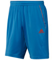 Adidas Mens adiPower Barricade Bermuda- Bright Blue/Core Energy