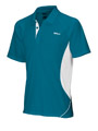 Wilson Mens Performance Polo - Tasman Teal / White