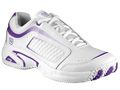 Wilson Womens Pro-Staff Victress Tennis Shoes- White/Lavender