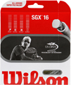 String Upgrade - Wilson SGX Silver 16 (1.30) Tennis