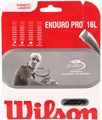 Wilson Enduro Pro Black 16 Tennis Strings Set