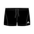 Adidas Boys Essential Boxers with Infinitex- Black