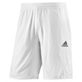 Adidas Mens adiPower Barricade Shorts - White / Dark Onix