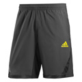 Adidas Mens adiPower Barricade Shorts - Black / Vivid Yellow