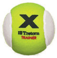 Tretorn Micro X Trainer Balls Yellow/White - Quantity Deals