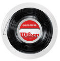 Wilson Enduro Pro 16 Black Tennis Strings Reel